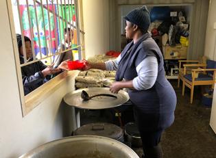 Suedafrika Essen fuer Kinder
