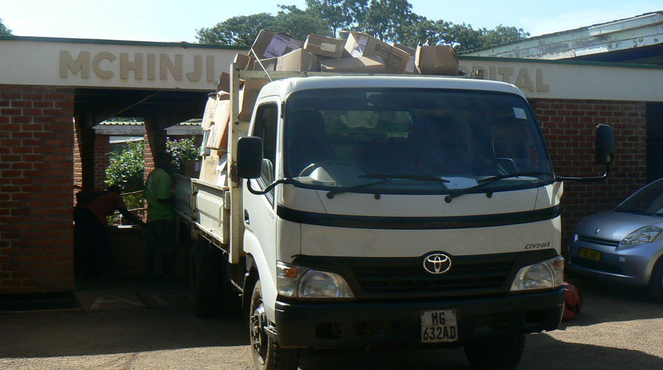 Hilfslieferung Liberia