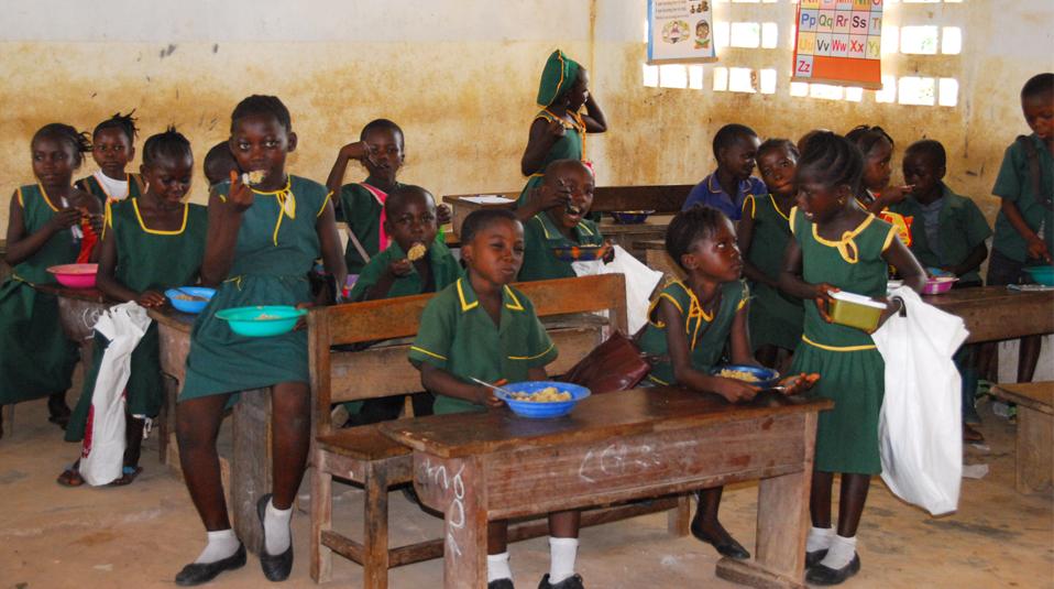 Sierra Leone Schulspeisung