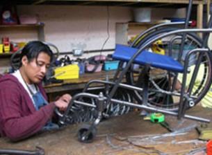 Rollstuhl Werkstatt