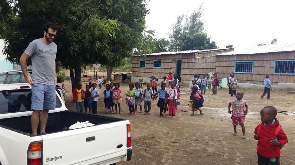 Hilfslieferung nach Mosambik