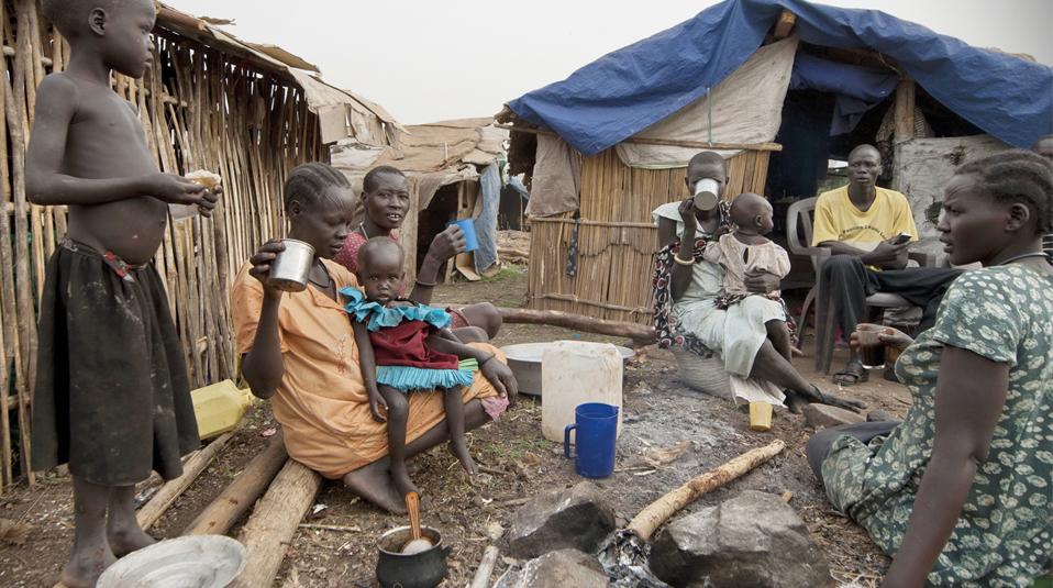 Alltag im Flüchtlingslager