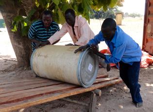 Malawi Nahrungsmittellieferung