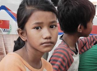 Mobile Krankenstation in Kambodscha