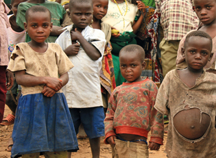 Kinder in Malawi