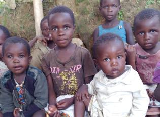 Corona Waisenkinder Kongo