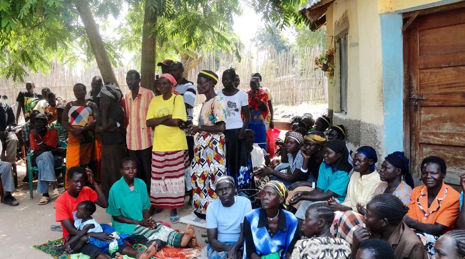 Flüchtlingslager Uganda
