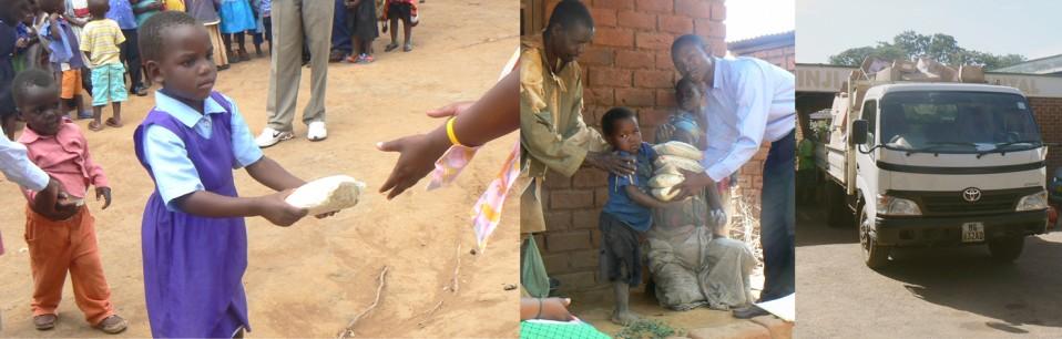 Nahrungslieferung Malawi