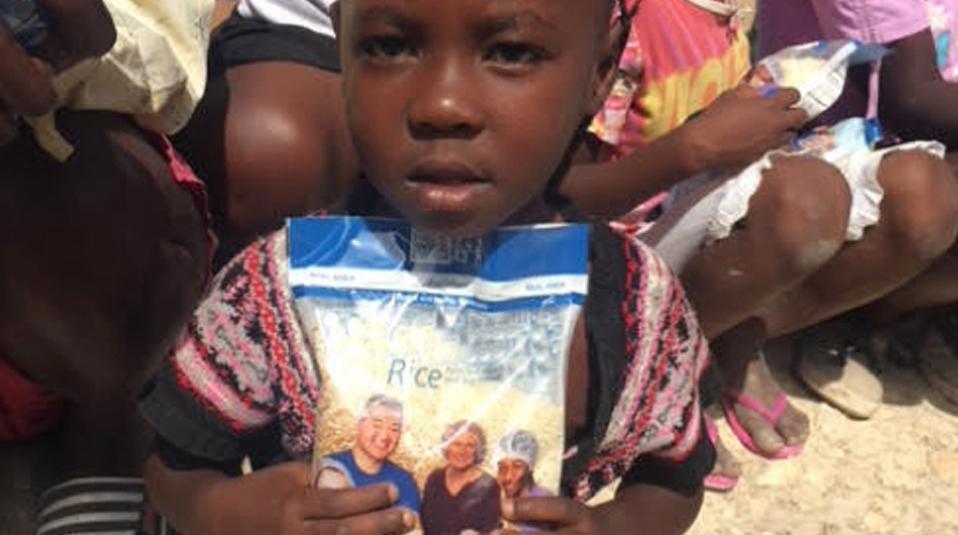 Haiti Hilfe nach Wirbelsturm