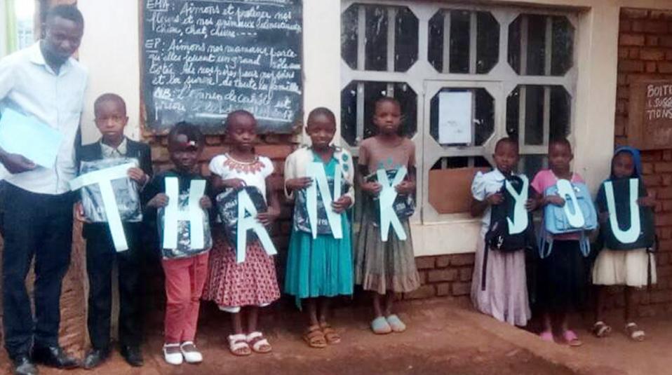 Schulunterricht im Kongo