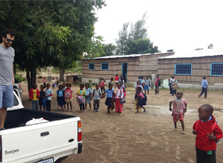 Mosambik Kinder Waisenhaus