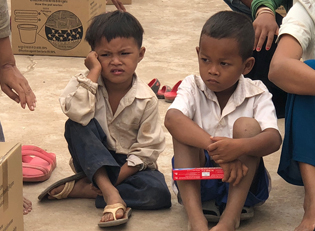 Kambodscha Sauberes Wasser