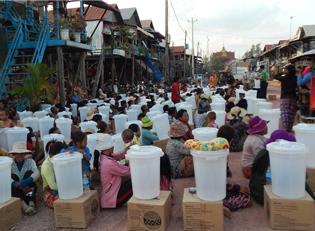 Wasserfilter f?r Kambodscha