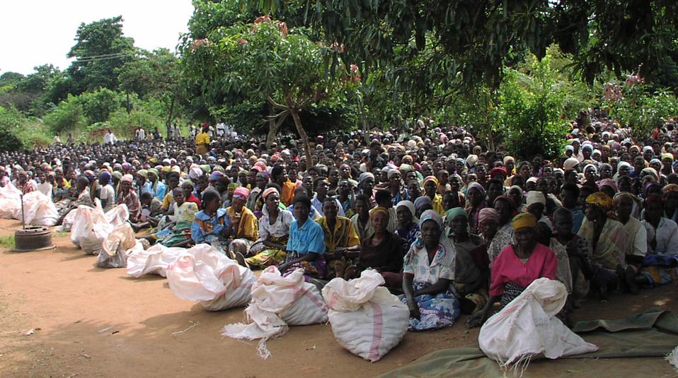 Malawi Hilfslieferungen