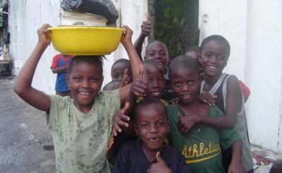 Hilfsprogramm in Afrika