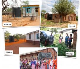 Wassertanks für Kenia von CHF Hoffnung für Kinder